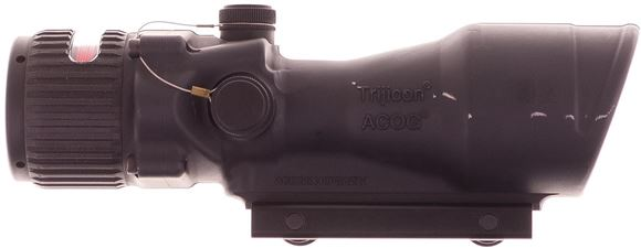 Picture of Used Trijicon ACOG TA648, 6x48 BAC Red Chevron 5.56 Reticle, Very Good Condition