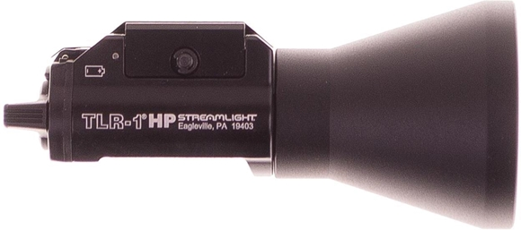 Picture of Used Streamlight TLR-1HP Railmount Weaponlight, Super Bright LED Tactical Weapon Light with 775 Lumens, Excellent Condition