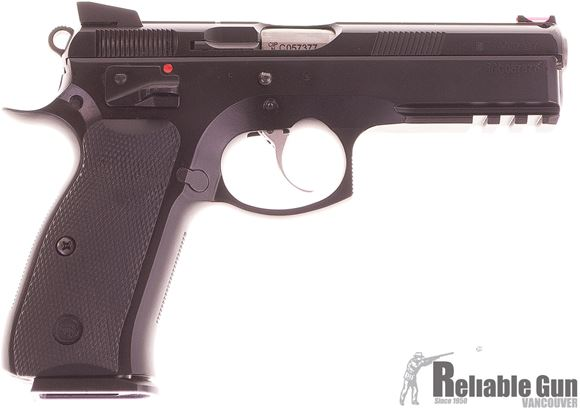 Picture of Used CZ 75 SP-01 Shadow 9mm Semi Auto Pistol, 4x10rd Mags, Original Box, Very Good Condition
