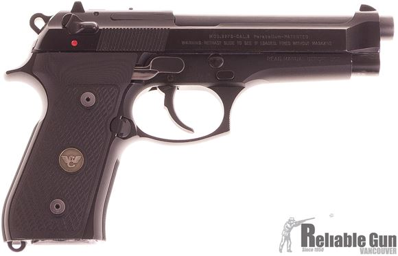 Picture of Used Beretta 92 FS Semi Auto Pistol, 9mm Luger, Wilson Combat Grips, Wilson Combat Deluxe Trigger and Spring, Short Reach Trigger, 2x Magazines, Good Condition