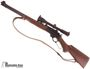 Picture of Used Marlin 336CS Lever Action Rifle, 30-30 Win JM Stamped, 20'' Micro Groove Barrel, Walnut Stock, Redfield 6x Tracker Scope, Leather Sling, Very Good Condition