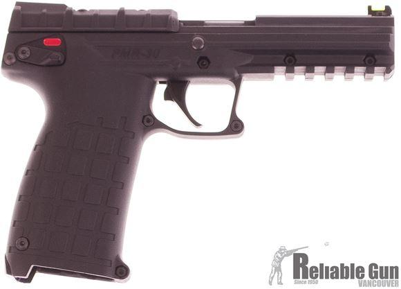"Picture of Used Kel-Tec PMR-30 Rimfire Semi-Auto Pistol - 22 Win Mag, 4.3"", Black Polymer, 2 Magazines, Excellent Condition"