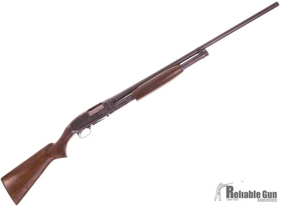 """Picture of Used Winchester Model 12 Pump action Shotgun, 12-Gauge, 2 3/4"""", 30"""" BBL, Fixed Full Choke, Good Condition"""