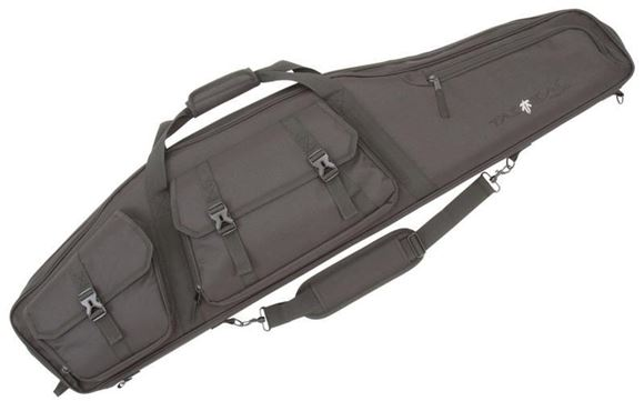 "Picture of Allen Shooting Gun Cases - Velocity Rifle Case, 55"", 3 Front Pockets, Adjustable Sling, Padded Interior, Black"