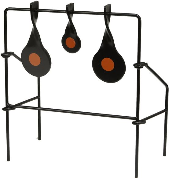 Picture of Allen Shooting Accessories, Targets/Throwers - EZ Aim Steel Triple Spinner Target, For Use With 22 Rimfire & Airguns