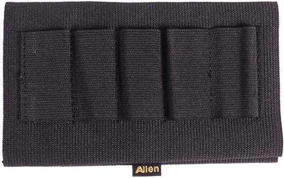 Picture of Allen Shooting Accessories - Basic Buttstock Shell Holder, Fits Shotgun, 5 Cartridges