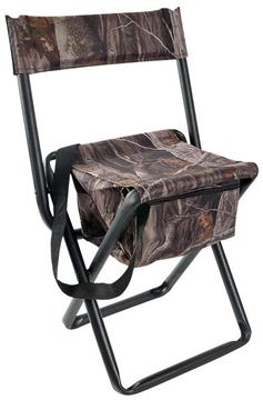 Picture of Allen Hunting Accessories - Seat/Stool/Pad, Vanish Folding Stool w/Back, Next Camo