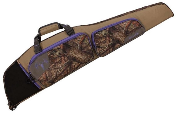"""Picture of Allen Shooting Gun Cases, Standard Cases - Summit Rifle Case, 46"""", Mossy Oak Country/Violet"""