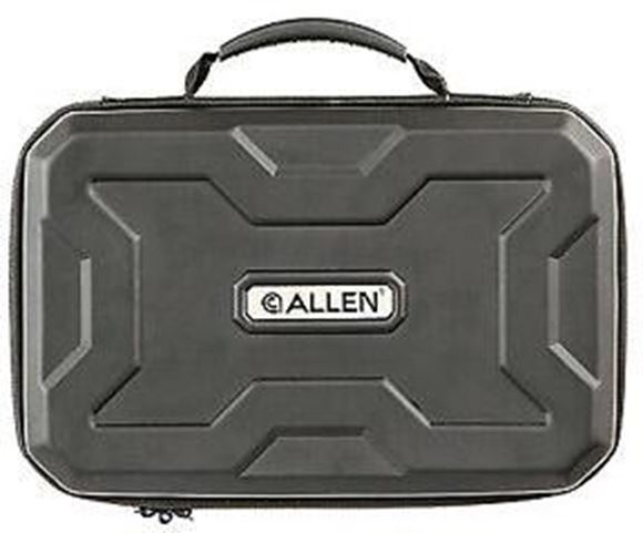 "Picture of Allen Shooting Gun Cases, Handgun Cases - EXO Handgun Case, Black, 12"""