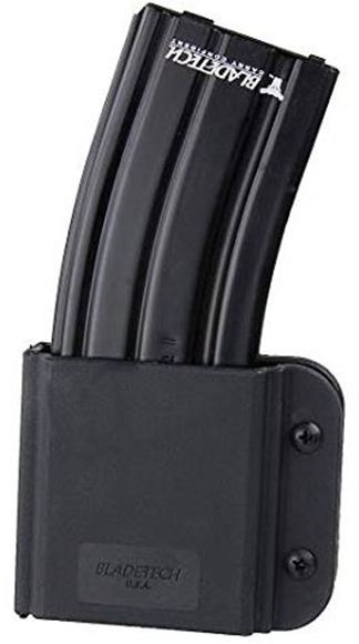 Picture of Blade-Tech Revolution AR Magazine Pouches, Revolution AR-15/M4 Single Mag Pouches - Tek-Lok, Mag Vertical, Black, Right Hand