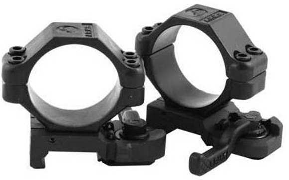 Picture of A.R.M.S. Mounts - #22, Throw Lever Scope Rings, 30mm, Low