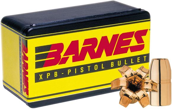 "Picture of Barnes XPB Pistol Bullets - 460 S&W (.451""), 200Gr, XPB, 20ct Box"