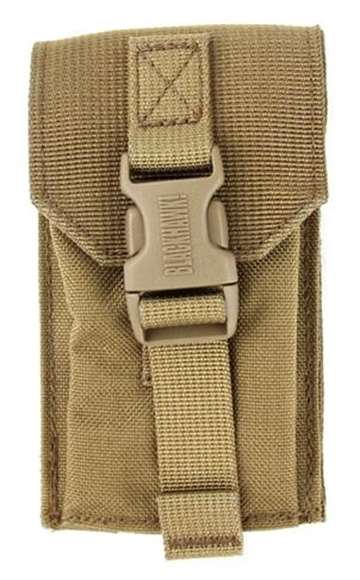 Picture of Blackhawk Ammo Pouch Tactical Nylon - STRIKE Mag Pouch, Single M4/M16, Coyote Tan, MOLLE Compatible, Heavy Duty Fabric
