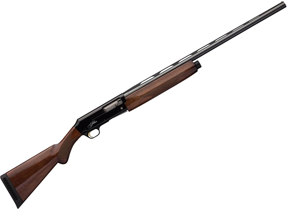 """Picture of Browning Silver Black Lightning Semi-Auto Shotgun - 12Ga, 3"""", 28"""", Vented Rib, Lightweight Profile, Polished Blued, Polished Black Receiver, Gloss Grade I Turkish Walnut Stock, 4rds, Brass Bead Front Sight, Invector-Plus Flush (F,M,IC)"""