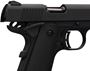 "Picture of Browning 1911-380 Black Label Single Action Semi-Auto Pistol - 380 ACP, 4-1/4"", Matte Black Steel Slide, Matte Black Composite Frame, 2x8rds, Combat White Dot Front & Rear Sights, Extended Ambi Safety, Skeletonized Hamme, w/ Pistol Rug"