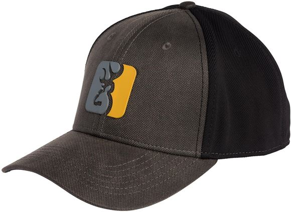 Picture of Browning Hats - Workman Hat, Canvas, Black & Grey Color