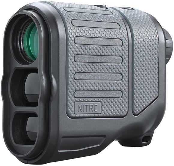 Picture of Bushnell Hunting/Tactical NITRO 1-Mile Laser Rangefinders - 6x20mm, 7-1760yds, Bow/Rifle ARC (Angle Range Compensation), ExoBarrier, Fully Waterproof, Gun Metal Grey