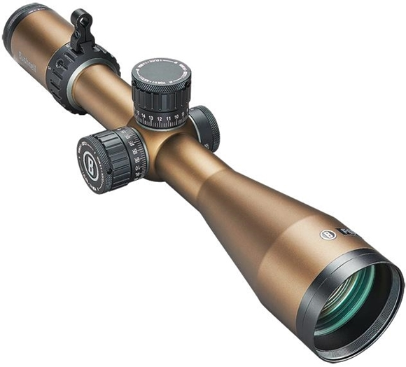 Picture of Bushnell Forge Rifle Scope - 2.5-15x50mm, 30mm, Locking Target Turrets, Zero Stop, Side Focus, Deploy MOA Reticle, Second Focal Plane, Terrain Colour