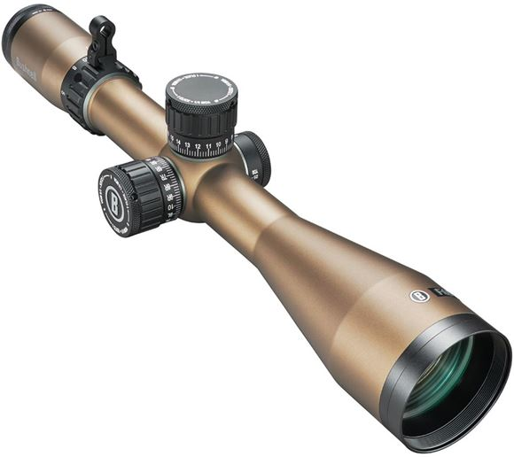Picture of Bushnell Forge Rifle Scope - 3-18x50mm, 30mm, SFP, Locking Target Turrets, Zero Stop, Side Focus, Deploy MOA Reticle, Terrain Colour