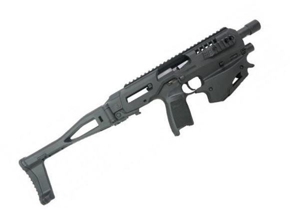 Picture of CAA - MCK Micro Conversion Kit (NFA) - Composite Chassis for Sig 320, Ambidextrous, Integral Charging Handle, Top & Side Rails, Folding Buttstock, Black