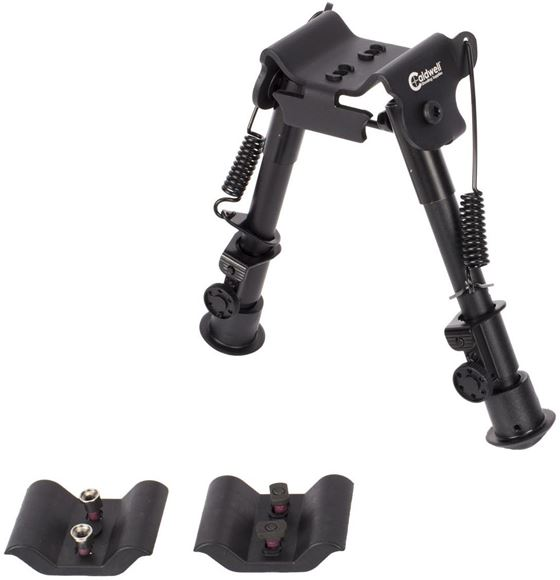 """Picture of Caldwell Shooting Supplies - XLA Bipod, 6-9"""", Fixed Mount, For M-Lok or Key Mod"""