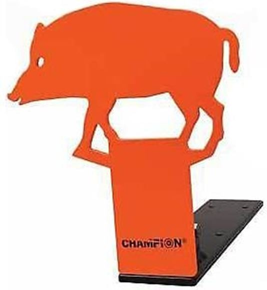Picture of Champion Rimfire Popup Steel Targets, Hog