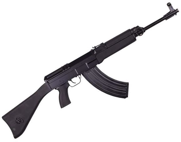 "Picture of Czech Small Arms (CSA) Sa vz. 58 Sporter Carbine Semi-Auto Rifle - 7.62x39mm, 18.6"", Chrome Lined, Black, Retro Bakelite/Wood Fixed Stock, 2x5/30rds"