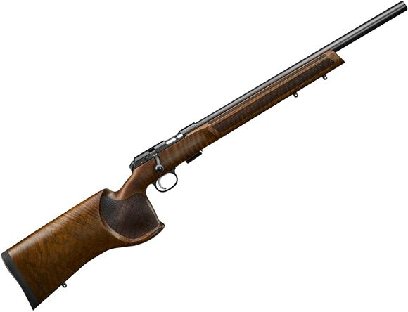 "Picture of CZ 457 Varmint MTR Match Bolt-Action Rifle - 17 HMR, 20"", Heavy Barrel, Cold Hammer Forged, Walnut Target Stock, Adjustable Trigger, 5rds"