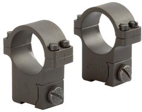 """Picture of CZ 527 Ring Mount - 1"""", Steel, 16mm Dovetail, Pair"""