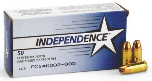Picture of Federal Independence 9mm Luger Pistol Ammunition, 115 gr. HP, 1000 rd. Case