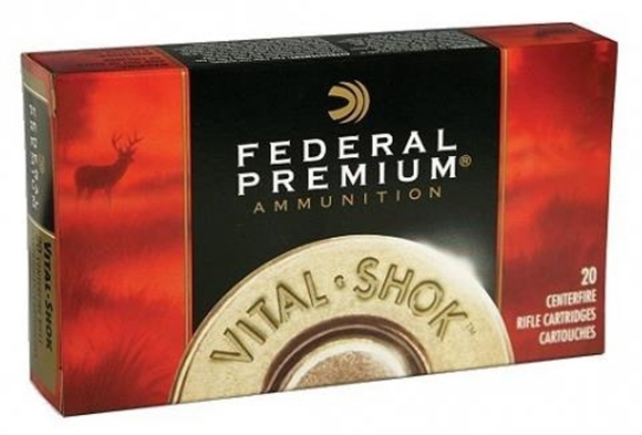 Picture of Federal Premium Trophy Bonded Rifle Ammo - 338 Federal, 200Gr, Trophey Bonded Tip, 20rds Box