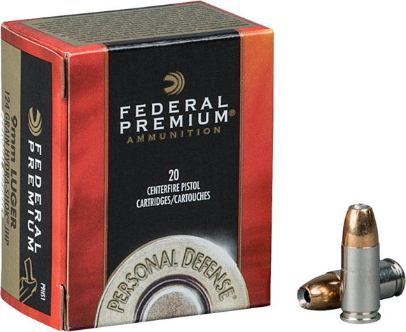 Picture of Federal Premium Personal Defense Handgun Ammo - 38 Special, 129Gr, Hydra-Shok JHP, 500rds Case