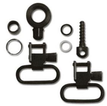 """Picture of GrovTec GT Swivels, GT Locking Swivel Sets - For Browning BLR Lever Action Rifles, 1"""" Loops, Blued, Does not fit Browning BLR Lighting"""