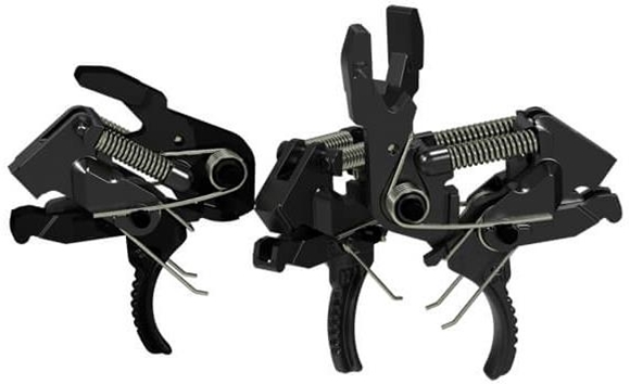 Picture of HiperFire AR15 Trigger - Hipertouch Reflex, Single Stage, 2 Pre-Set Weights 2 1/2 lb and 3 1/2 lb, Curved Trigger