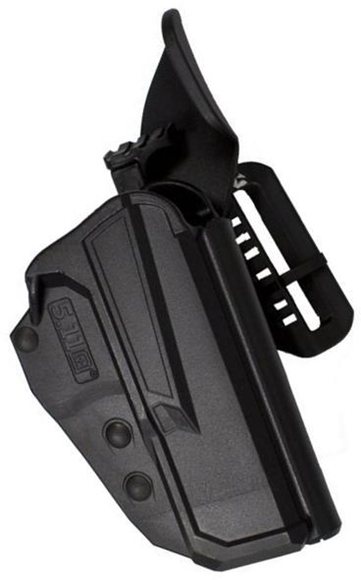 Picture of Blade-Tech 5.11 Tactical ThumbDrive Glock Holsters, Thigh Rig Drop and Offset Kit, Left Hand