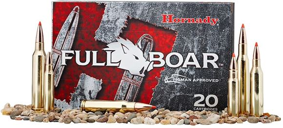 Picture of Hornady Full Boar Rifle Ammo - 270 Win, 130Gr, GMX FB, 20rds Box