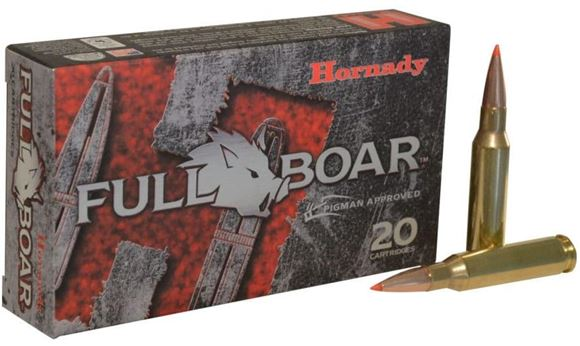 Picture of Hornady Full Boar Rifle Ammo - 7mm-08 Rem, 139Gr, GMX FB, 20rds Box
