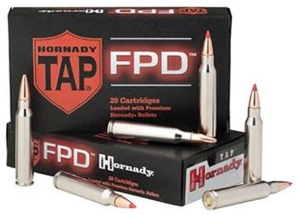 Picture of Hornady TAP FPD Rifle Ammo - 308 Win, 110Gr, TAP FPD, 20rds Box