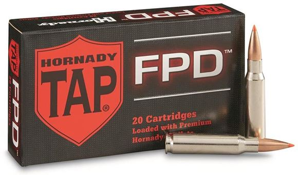 Picture of Hornady TAP FPD Rifle Ammo - 308 Win, 168Gr, TAP FPD, 20rds Box