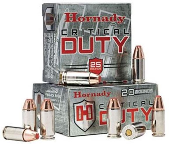 Picture of Hornady Critical DUTY Handgun Ammo - 40 S&W, 175Gr, FlexLock Duty, 25rds Box
