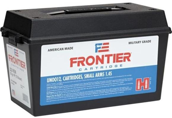 Picture of Hornady Frontier Cartridge Rifle Ammo - 5.56 NATO, M193, 55Gr, FMJ, 500rds Army Can