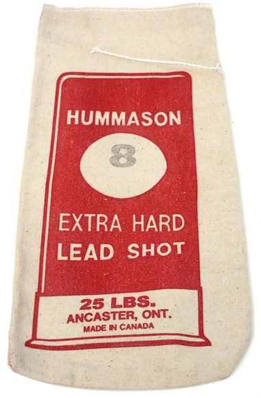 Picture of Hummason Manufacturing - Extra Hard Lead Shot, #8, 25lb Bag