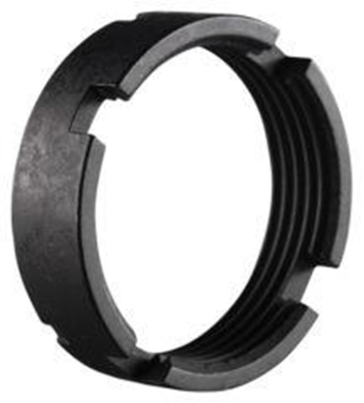 Picture of Luth-AR Rifle Parts & Assemblies - AR15 Receiver Extension Castle Nut/Lock Ring, For MBA Carbine Buffer Tubes