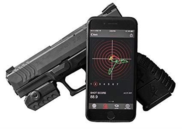 Picture of Mantis X Training Systems - Mantis X Electronic Shooting Performance System, Rail Mount Sensor With Free App, Works for Live Fire & Dry Fire