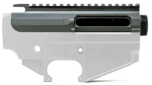 Picture of Maccabee Defense Inc - Stripped SLR-Multi Upper Receiver, 7075 Billet, Black Cerakote