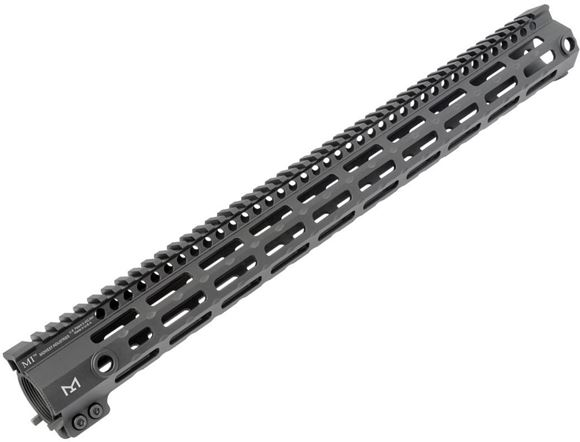 Picture of Midwest Industries AR Products, Tactical Handguards - G3 M-Series One Piece Free Float Handguard, M-LOK Compatible, 18-inch Mid Length, Black