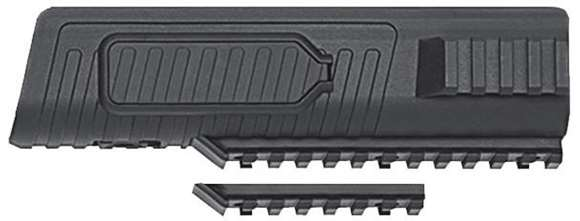 Picture of Mossberg Parts, 500/590 Stocks & Forends - 500 Flex Railed Forend, 12Ga, Black