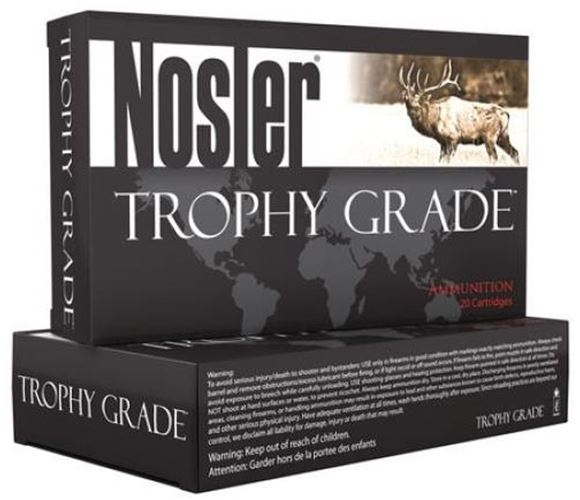 Picture of Nosler Trophy Grade Rifle Ammo - 28 Nosler, 160Gr, AccuBond, 20rds Box