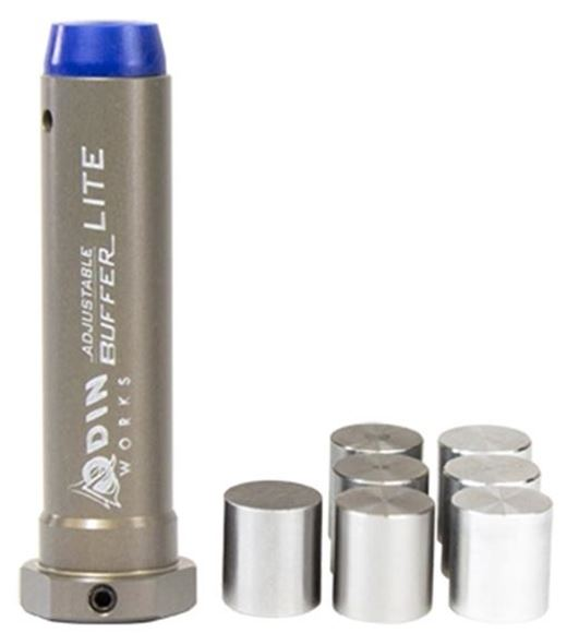 Picture of Odin Works AR 15 Parts - Adjustable Buffer, Lite, Includes 7 Weights, 2.1oz - 4.2oz