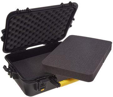 "Picture of Plano All Weather Hard Pistol Case - Pluck Foam, Interior 18"" x 14.25"" x 8"", Black"